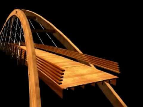 Proyecto dise o de puente de madera con arcos inclinados 1 - Maderas para arcos ...