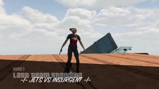 GTA 5 ONLINE NEW JETS VS INSURGENT SLAPPING JET PRO PS4