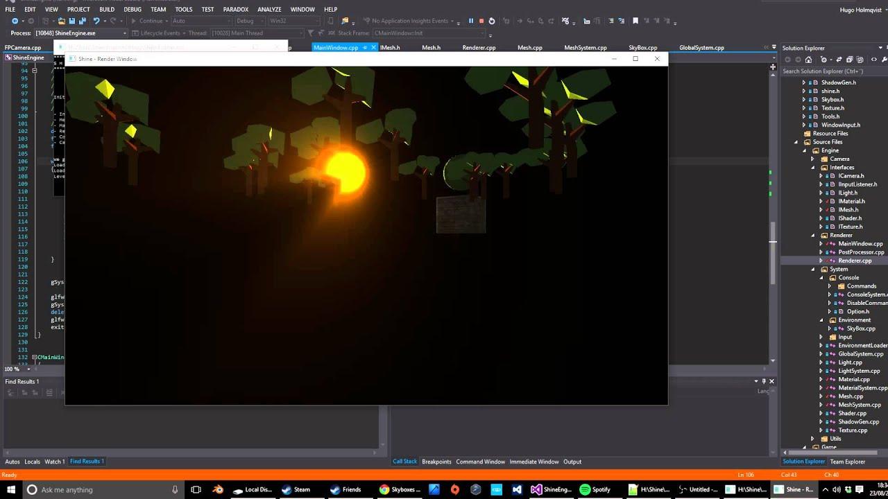 OpenGL Volumetric Lighting