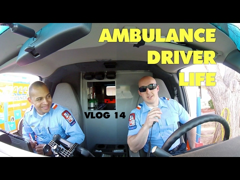 Ambulance Driver Vlog - You Watch This S#*t?! :D