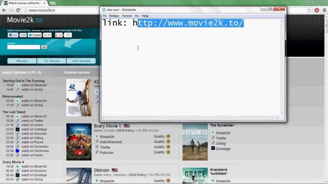 how to dowload movies with realplayer - YouTube