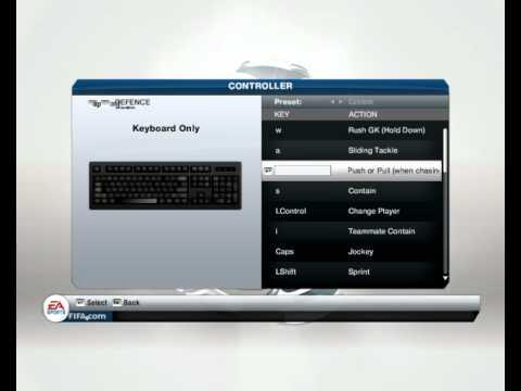 Fifa 13 Button Data Setup