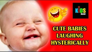 ★ CUTE BABIES LAUGHING HYSTERICALLY AT DOGS ✤ FUNNY KIDS VIDEOS ★