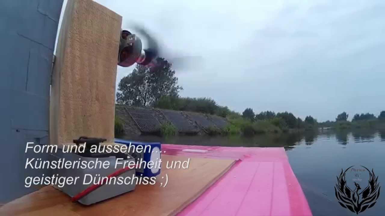 RC Sumpfboot günstig selber bauen ,das 25€ Ding (V1) - YouTube