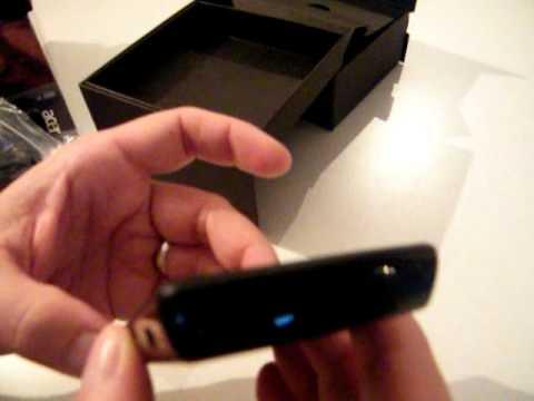 Acer BeTouch E101 25 décembre