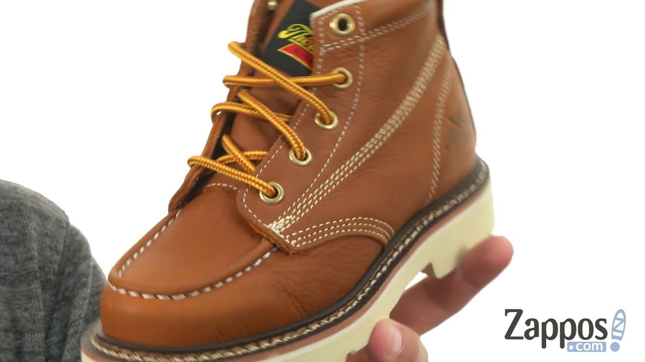 d2a31c0f968 Thorogood Jackson Moc Toe Boots (Little Kid) SKU: 8958280