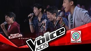 "The Voice Kids Philippines Battles ""What Makes You Beautiful"" by Jm and Jc, Sam, and Darren"