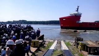 Lansare navă Damen Galaţi - 24 iunie 2015