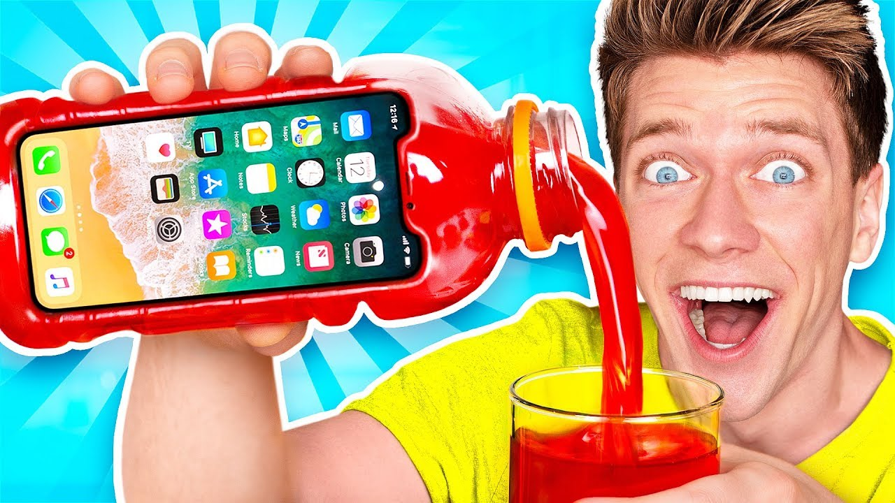 5 Amazing DIY Phone Cases! Learn How to Make The Best New Funny Slime iPhone & Samsung Case