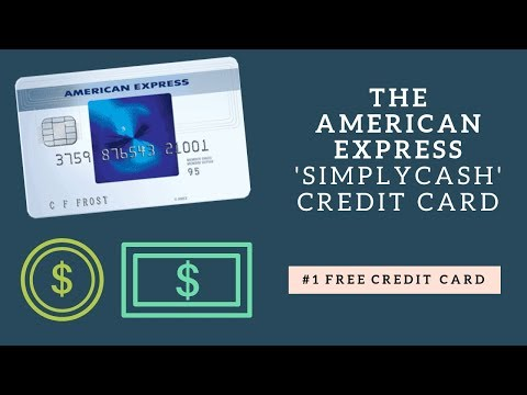 Best FREE Credit Card In CANADA! | American Express 'SimplyCash' Credit Card