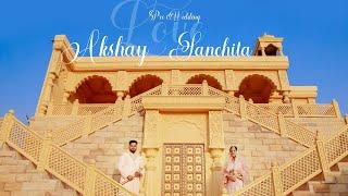 Akshay & Sanchita   Pre-wedding Highlight   Shooting Sky Studio   2021  