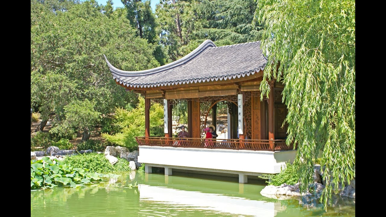 The Huntington Library Chinese Gardens Youtube