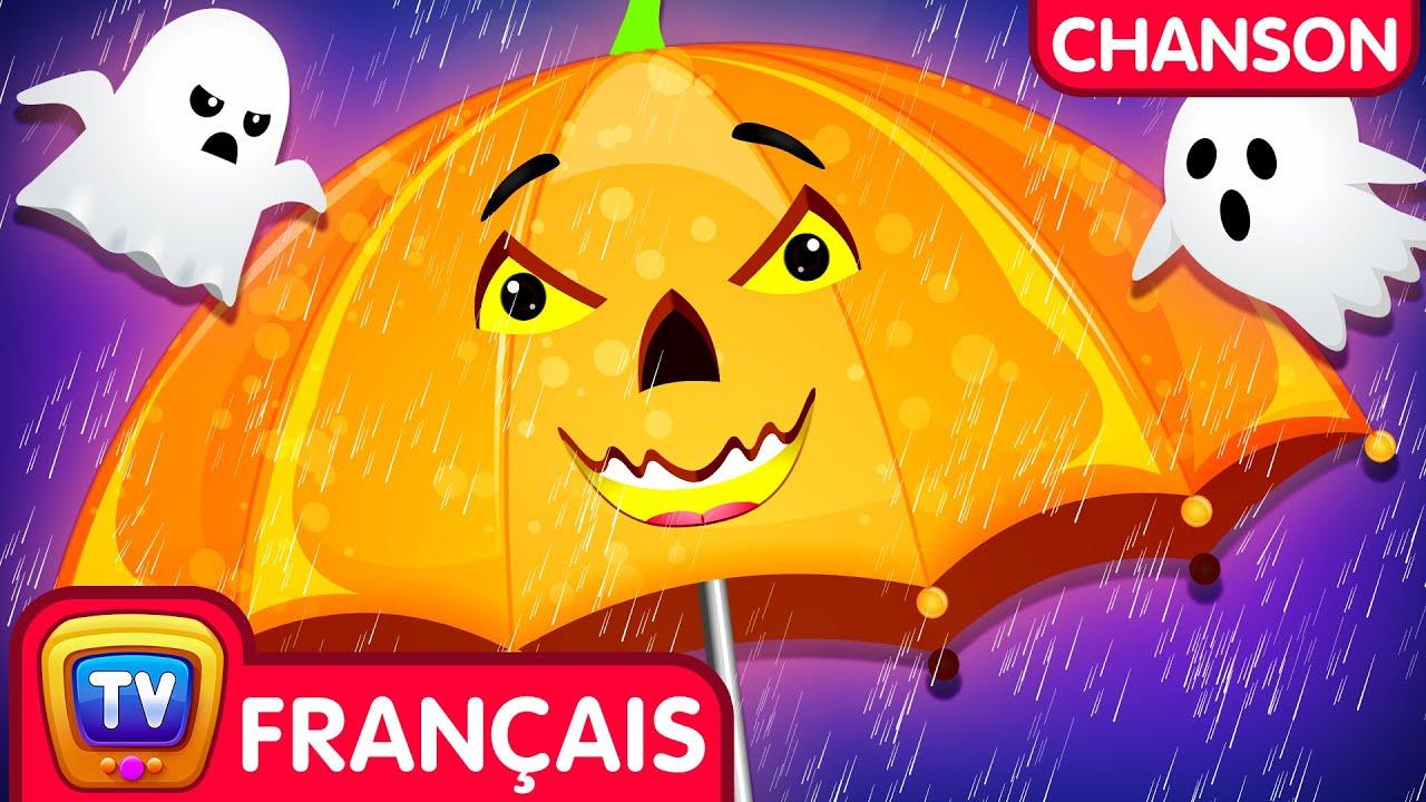 Pluie Pluie Vas-t'en Halloween 🎃 Chanson pour bébés (Rain Rain Go Away Halloween Song) - ChuChu TV