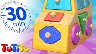 TuTiTu Specials | Shapes Puzzle | Play Time | 30 Minutes Special