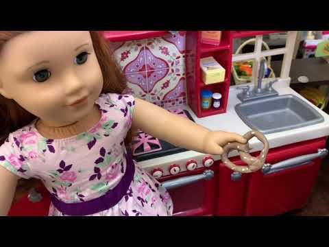 American Girl Doll Custom Food