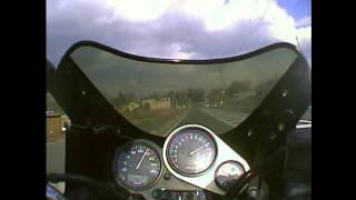 YAMAHA FZ400 4YR テスト3(フル加速)