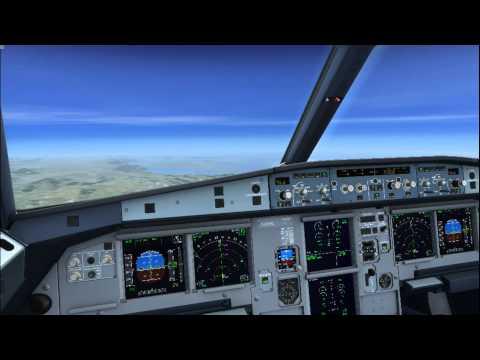 FSX FLIGHT! : Charles De Gaulle to Skiathos XLF882 A320!!!