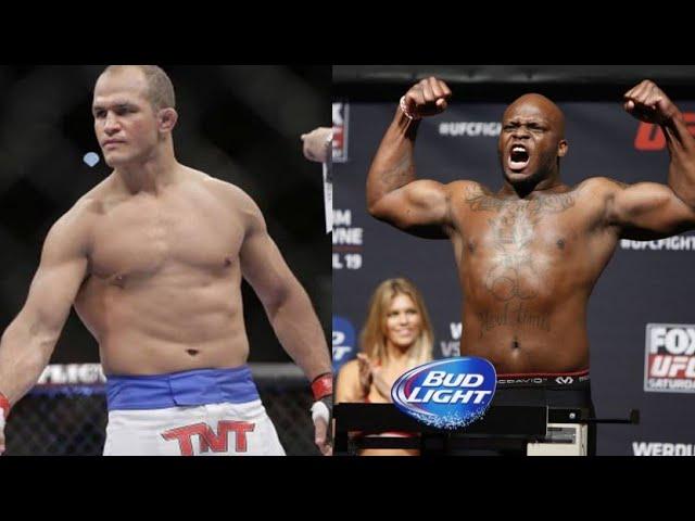 Derek Lewis vs Junior Dos Santos UFC Highlights