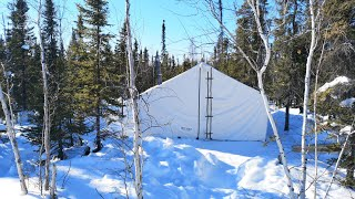 A Canvas Tent Vacation. Part 1