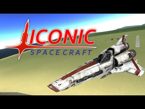 Battlestar Viper - Iconic Spacecraft: Ep.2 (Kerbal Space Program)