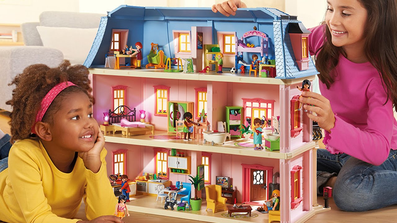 Playmobil Puppenhaus Playmobil Romantic Dollhouse Romantisches Puppenhaus