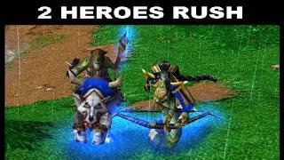 2 heroes rush | War¢raft 3 Reforged Classic gfx