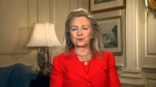 Secretary Clinton Delivers a Message on International Day of the Girl Child