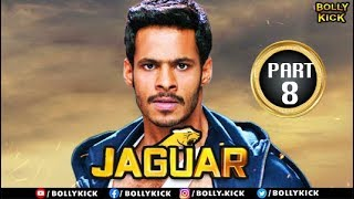 Jaguar Full Movie Part - 8 | Hindi Dubbed Movies | Nikhil Gowda Movies | Action Movies