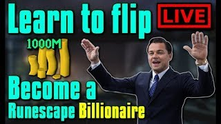 Learn to Flip in OSRS LIVE! - Flipping Guide / Money making - Stream #101