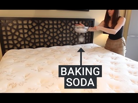 Here's How To Clean Your Mattress