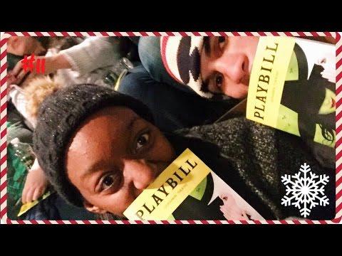 NEW YORK CITY VLOG, WICKED BROADWAY, STARDUST DINER | VLOGMAS #11