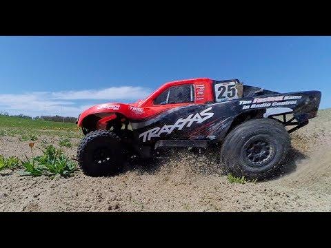 Dual Traxxas Slash 4x4 3S Grass N Sand RC Bash - Netcruzer RC