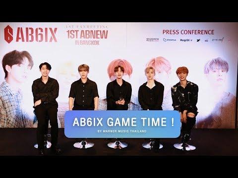 THAISUB AB6IX Game Time  AB6IX 1st Fan Meeting in Thailand