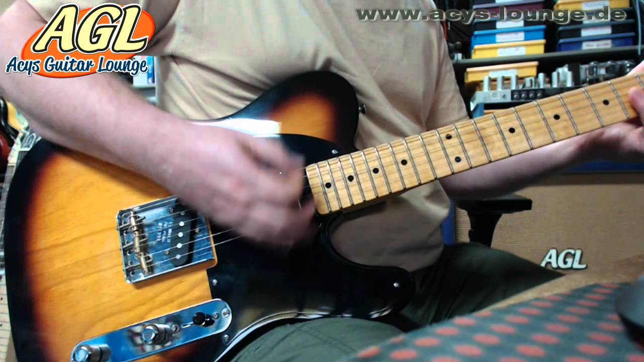 Telecaster With Dummy Coil Wiring Diagram Detailed Schematic Diagrams Switch Agl Tele Youtube
