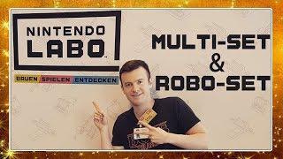 NINTENDO LABO Event-Bericht 📦 Multi-Set und Robo-Set angespielt!