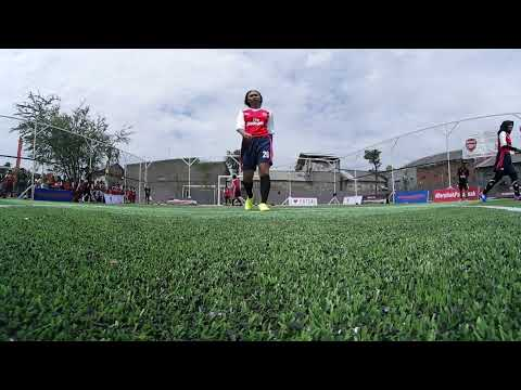 Arsenal & Save the Children football programme in Indonesia