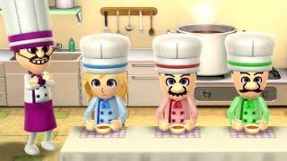 Wii Party U - Mario VS Luigi VS Peach VS Daisy (Minigames)