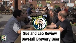 SusanB.TV Reviews Dovetail Brewery Beer (Crossover Episode #1!)
