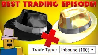 ROBLOX Trading | SPARKLE TIME FEDORAS & OVER 100 TRADES!!!!!