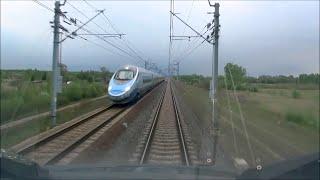 Cabview ED250 Pendolino Warszawa Zachodnia - Kraków Główny 200km/h
