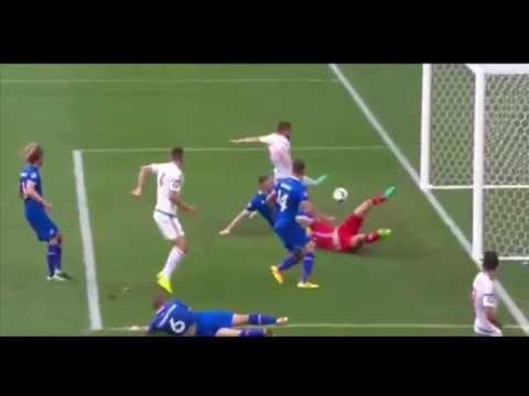 Iceland vs Hungary Euro 2016 1-1 Saevarsson (OwnGoal) HD