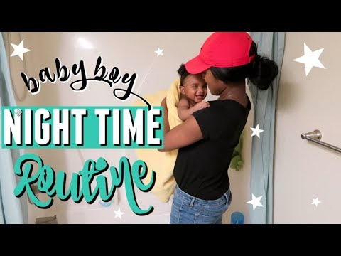 BABY NIGHT TIME ROUTINE | 6 MONTHS OLD
