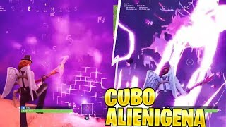 THE RAYS BRING A FORTNITE FILTERED SECRET ALIENIGENA CUBE: Battle Royale