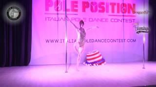 Elisa Ricci | italian pole dance contest 2017 - sabato 15 aprile