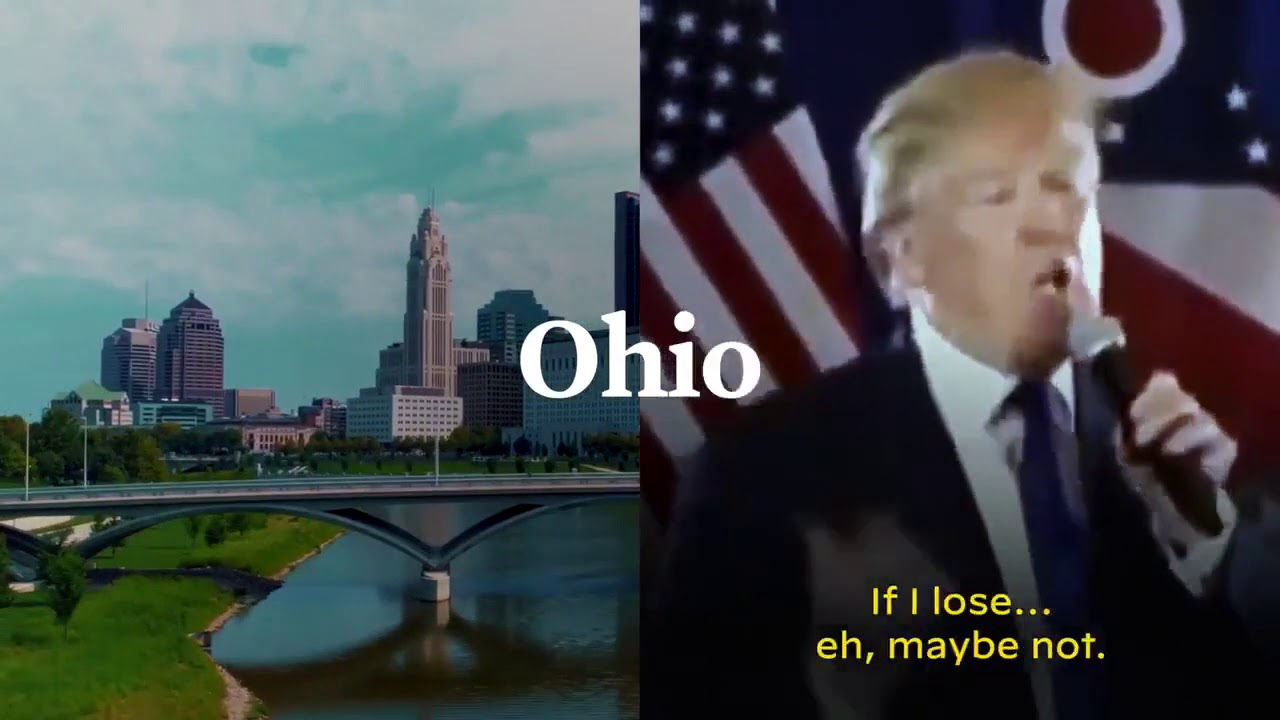 Joe Biden releases funny new ad closing down Trump wanting to leave America if he loses.