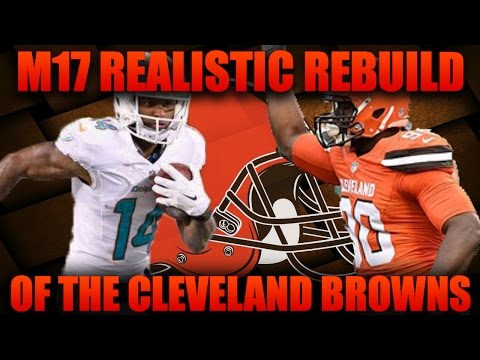 Madden 17 Franchise | Realistic Rebuilding of The Cleveland Browns! Early Second Qb Steal!!