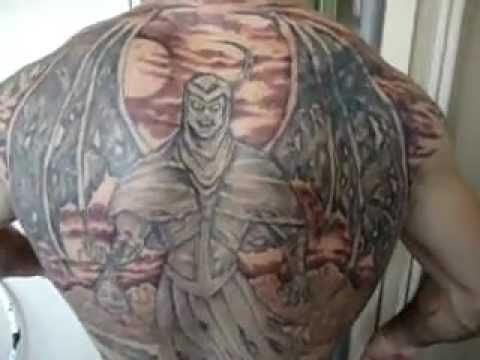 Tatuagem Ricardo Lopes Desenhos Caverna Do Dragão