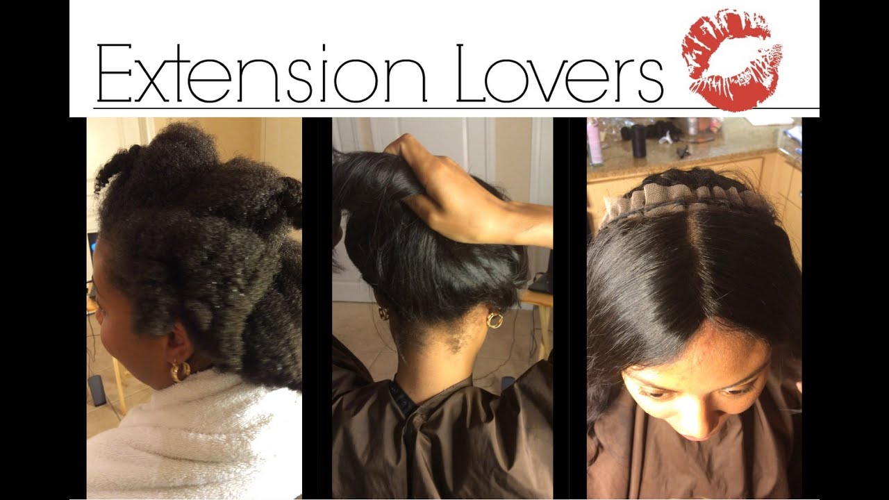 My process before lace frontal sew in no glue on natural 4b4c my process before lace frontal sew in no glue on natural 4b4c hair los angeles pmusecretfo Image collections