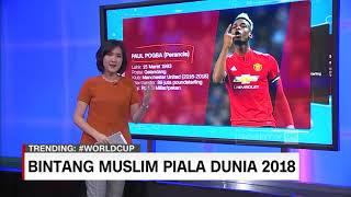 Bintang Muslim di Piala Dunia 2018