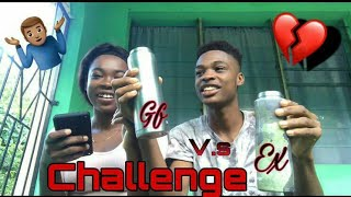 Gf v.s Ex Challenge 🥴